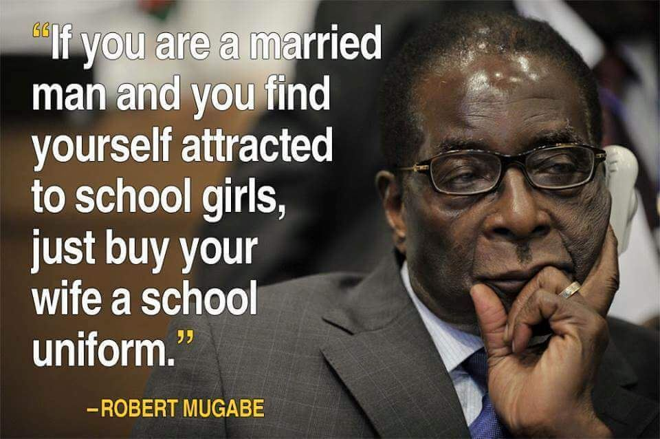 Hilarious Love Quotes By Robert Mugabe On Relationships