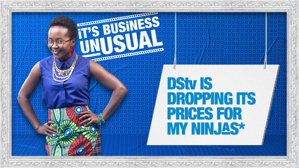 DSTV Kenya and Anne Kansiime DStv Ugandan ambassador