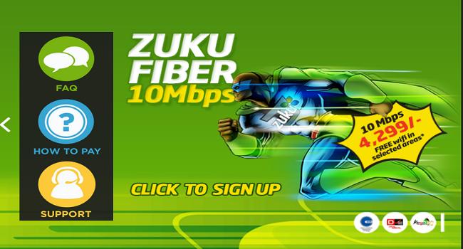 Zuku fiber Kenya