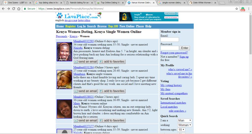 Lava dating website