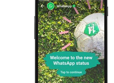 Whatsapp new status feature