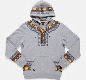 ankara hoodie