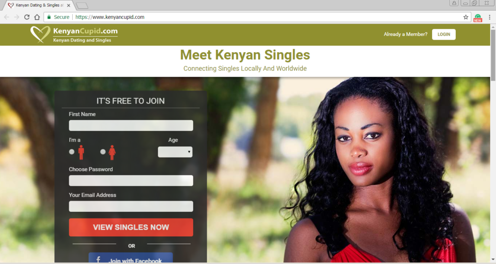 kenya singles dating site