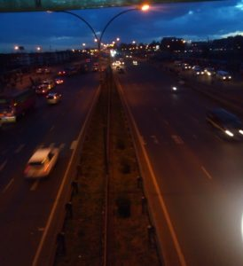 An image taken at 7.00PM on Thika Road using Royale Y1