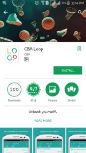 CBA Loop app