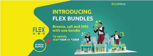 Safariom FLEX for calls, SMS, and data