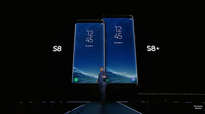 Samsung Galaxy S8 and S8+ finally unveiled in New York
