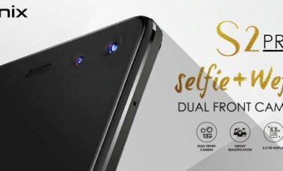 Infinix S2 Pro comes with a Wefie camera