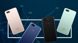 Gionee S10 units in four different colors