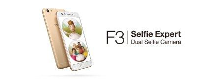 OPPO F3 marketing unit