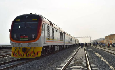 SGR train named Madaraka Express