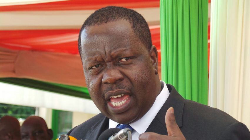 Education CS Dr. Matiangi who has been instrumental in the process of 6-3-3 education system