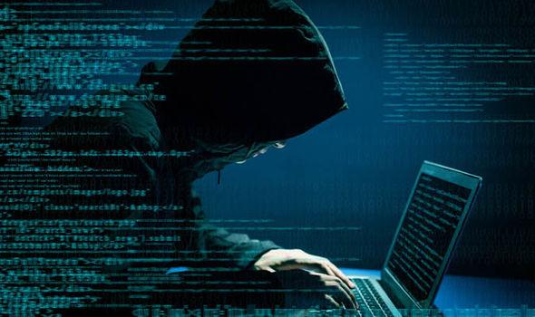 A Petya ransomware hacker at work