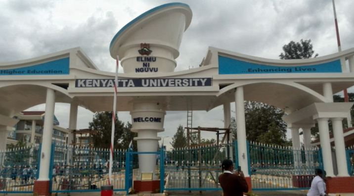 Kenyatta univerity portal features the physical infrastructure including the KU new gate