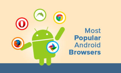 best android browsers infographic