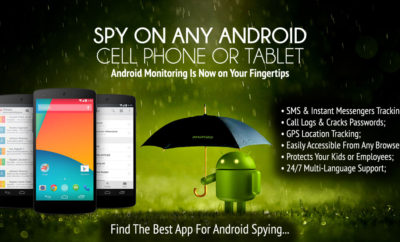 mobile spy apps for android infographic