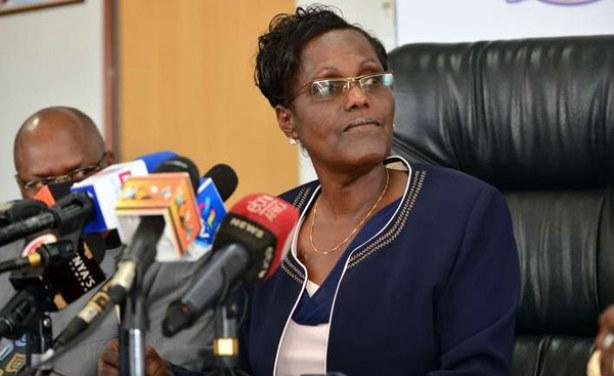 Dr. Lydia N. Nzomo TSC chairperson