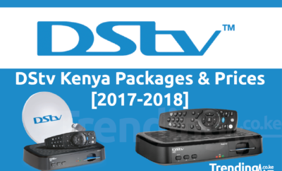 Dstv Kenya package and prices banner