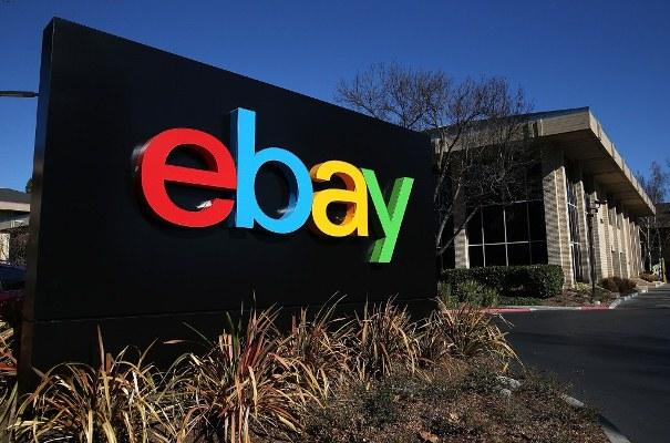 e-Bay sign outside the California office