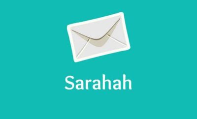 the Sarahah app