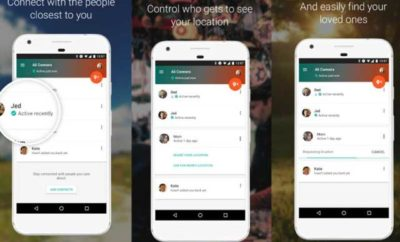 Google Trusted Contacts app functions demo