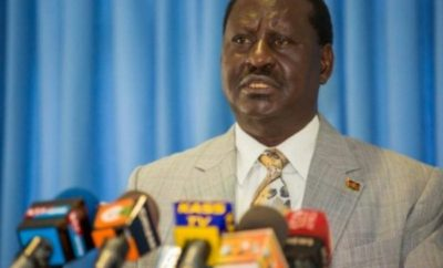 NASA leader Raila Odinga