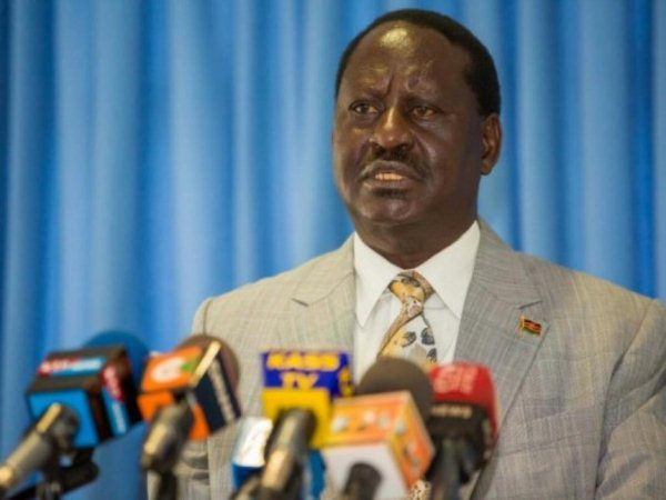 NASA leader Raila Odinga