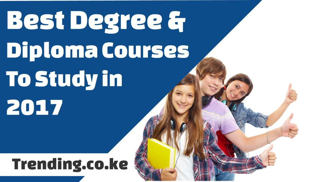 Best Marketable Degree & Diploma Courses To Study in Kenya 2020