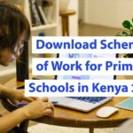 Download 2020 Schemes of Work for Primary Schools in Kenya