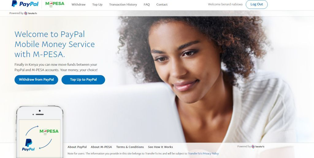 PayPal to MPESA: How to link, Withdraw and Top up PayPal from MPESA