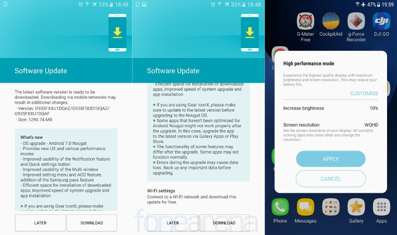 Android 7.0 Update for Infinix Zero 4, Note 3, Note 3 Pro, S2 Pro, Hot S & Hot 4