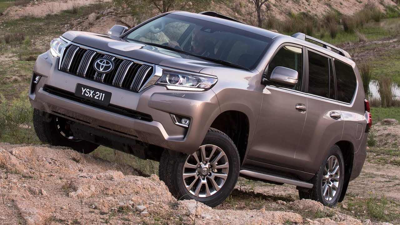 Toyota Kenya Unveils The New Look 2018 Prado VXL