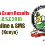 KCSE 2018 Results Release Date