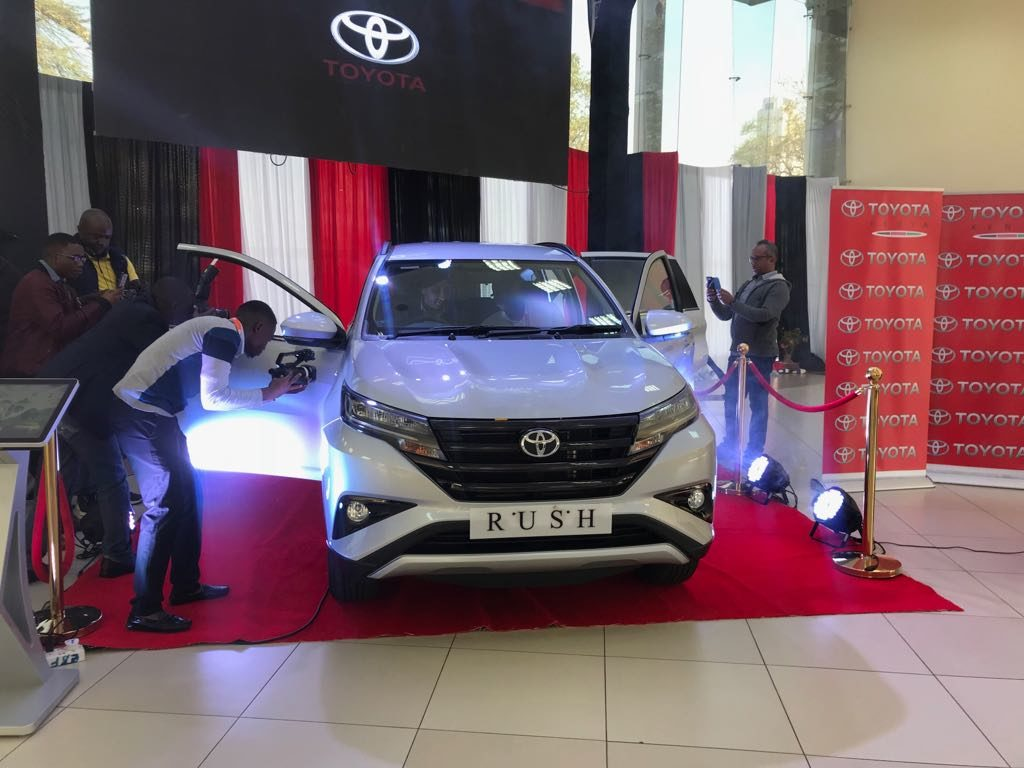 New Toyota Rush SUV During Launch in Kenya 2018 - Price