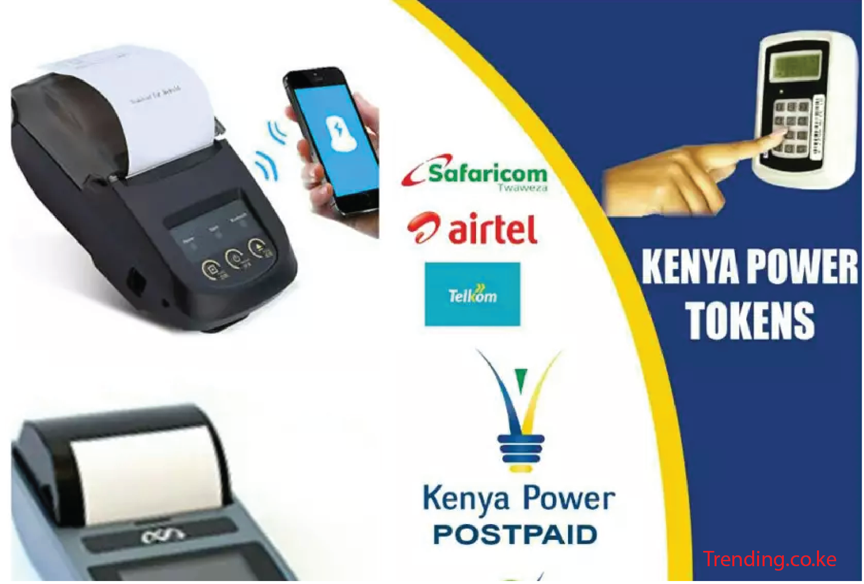 How to Buy Kenya Power KPLC Prepaid Tokens via MPesa