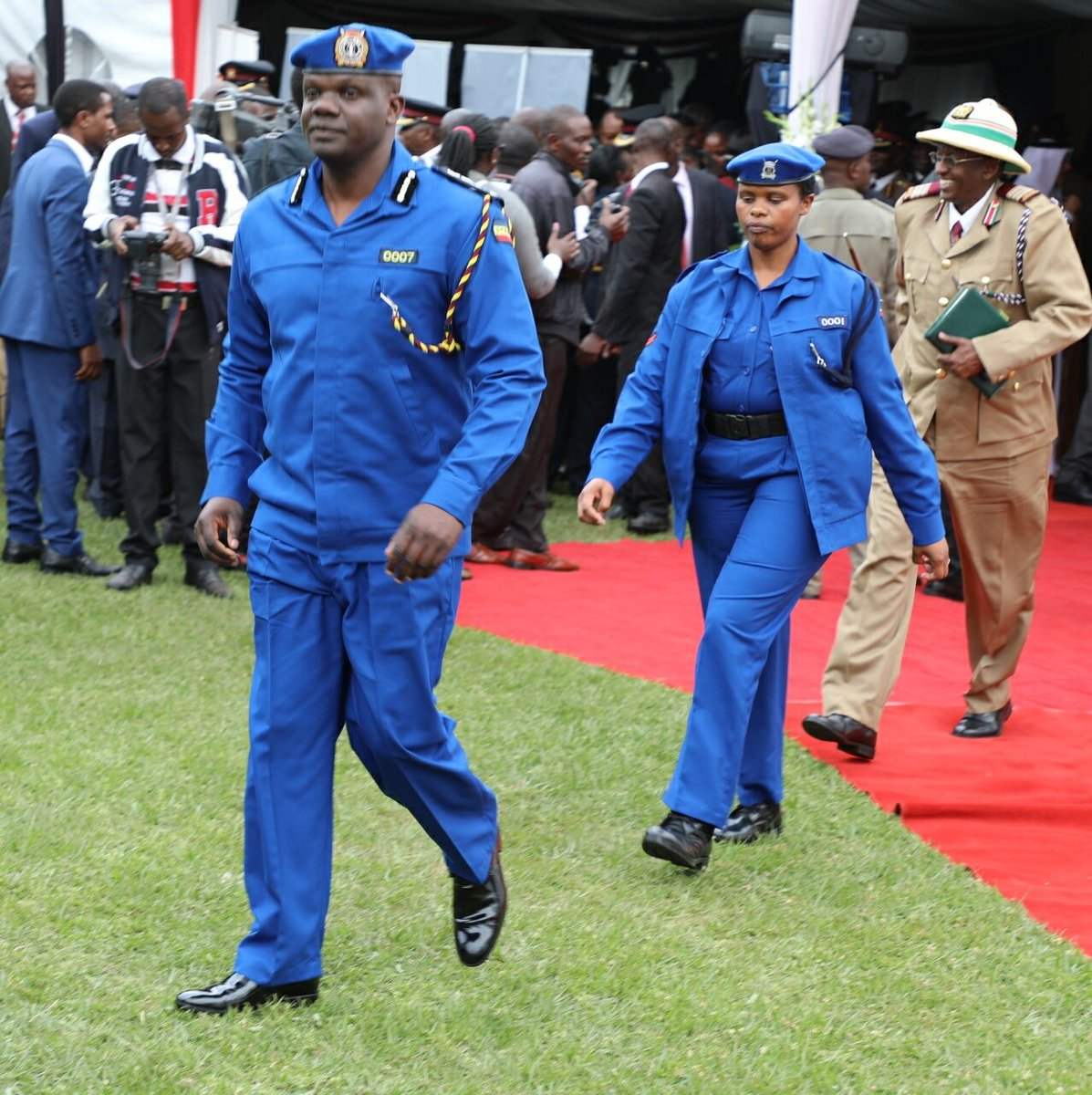 Kenya Police: New salary, Uniforms, Command Ranking Structure & Badges