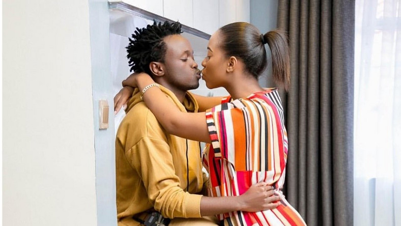 Bahati Proposes to Wife Diana Marua (Video)