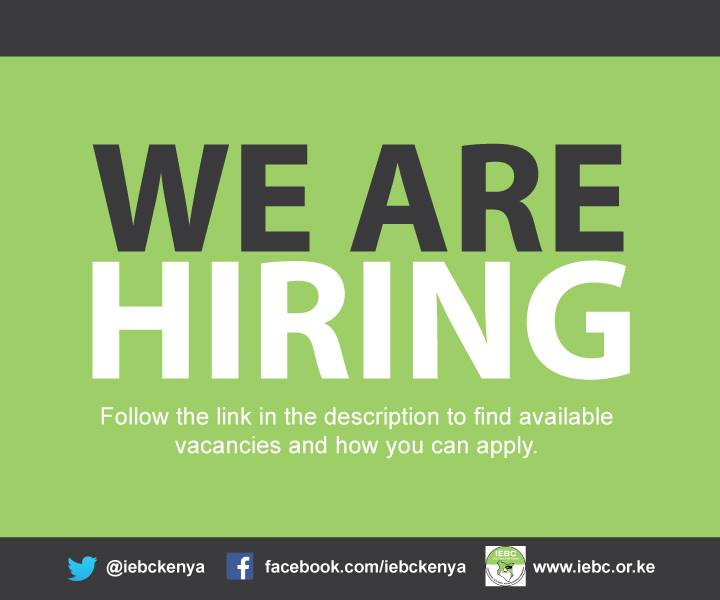 IEBC Latest Jobs 2019 Advertised & Shortlisted Candidates