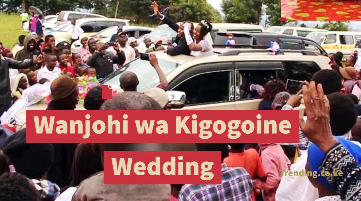 Wanjohi wa Kigogoine Wedding