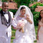 White rose bridal Joy weds paul wedding show