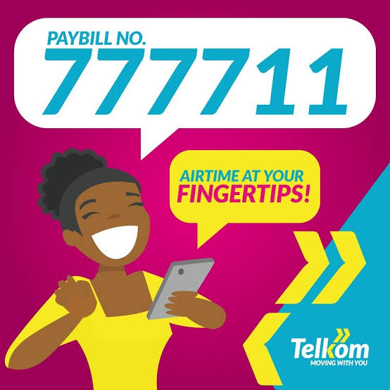 How to buy Telkom airtime via Mpesa and Airtel Money