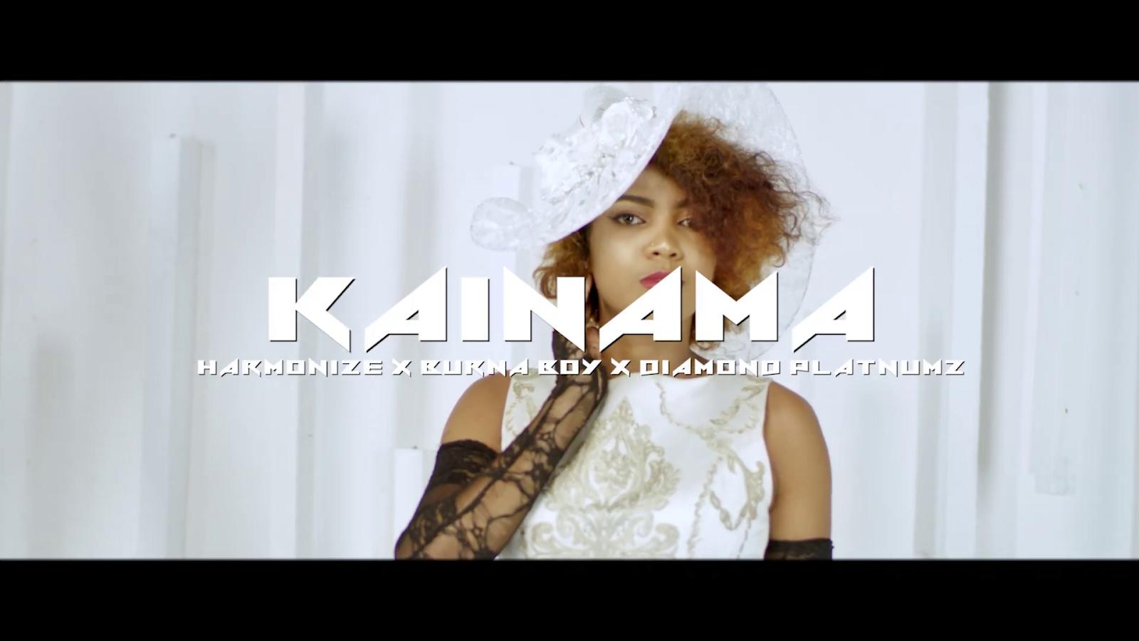 Kainama – Harmonize x Burna Boy x Diamond Platnumz  Download Mp3, Mp4 & Lyrics