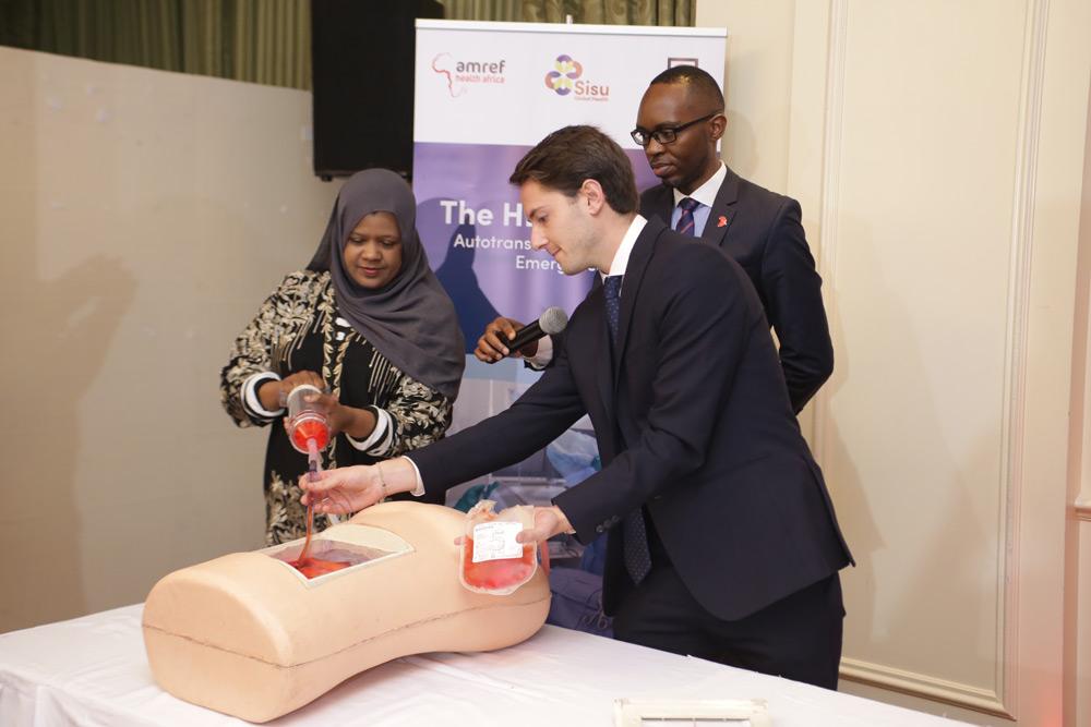 Hemafuse Launch in Kenya, How it Works