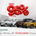 Co-operative Bank announces partnership to Finance Toyota Kenya Vehicles up to 95%