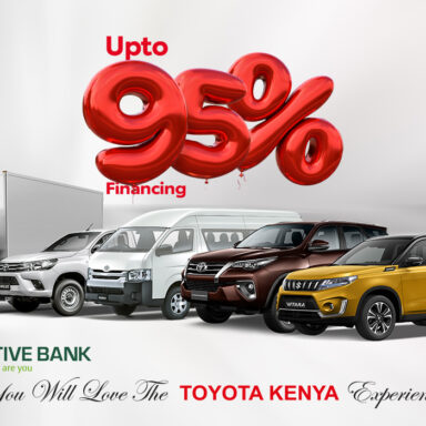 Co-operative Bank announces partnership to Finance Toyota Kenya Vehicles up to 95%