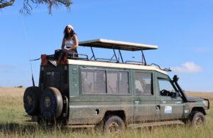 Land Cruiser Inside Masai Mara